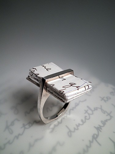 ring with letter