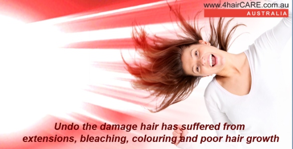 laser for damaged hair
