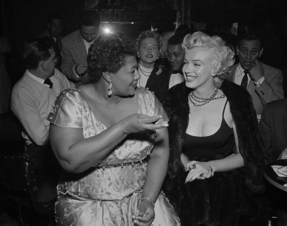 Ella Fitzgerald about Marilyn Monroe.